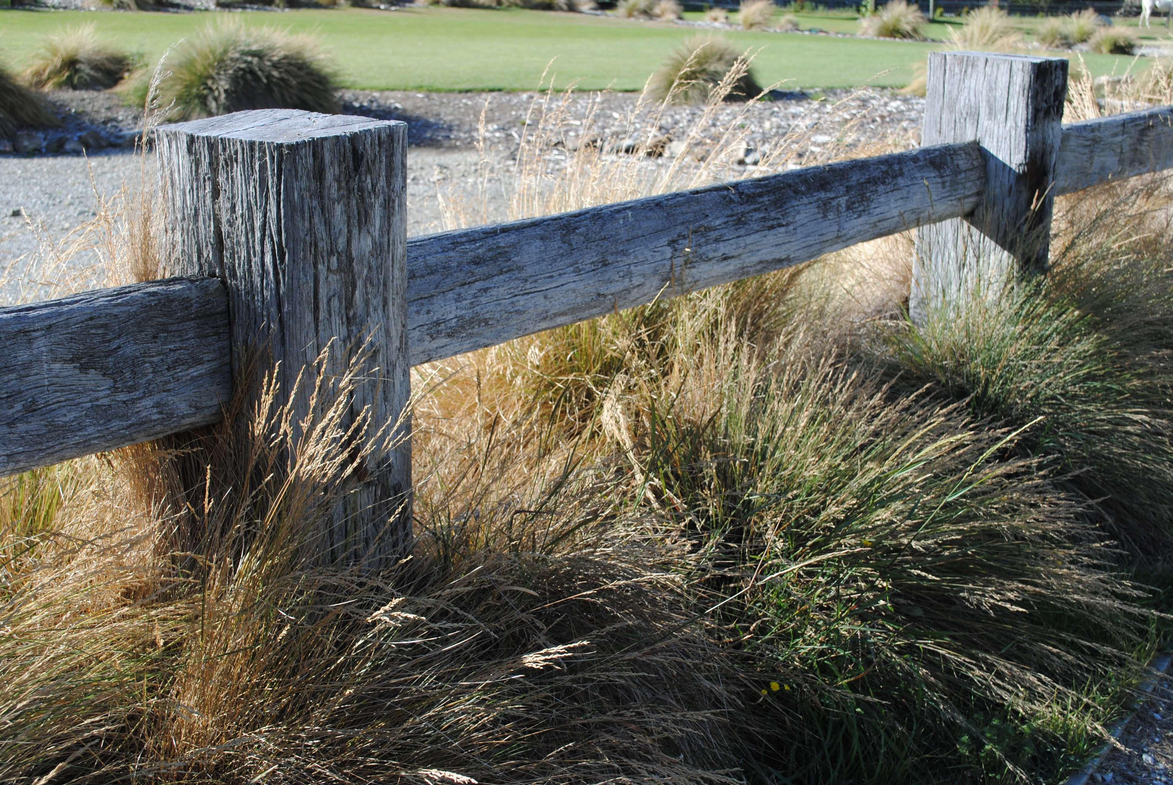 Hardwood Fence 1